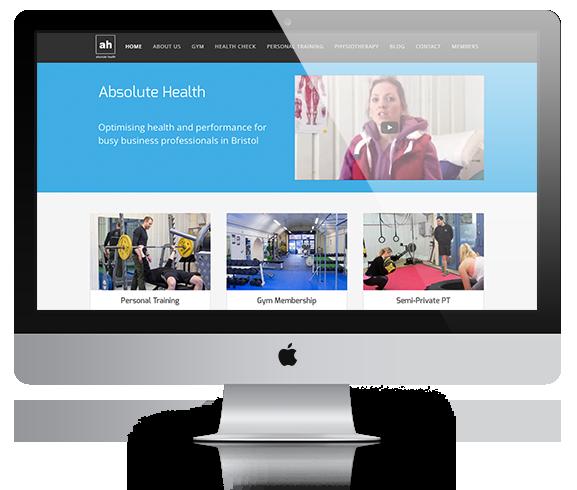 Absolute Health desktop