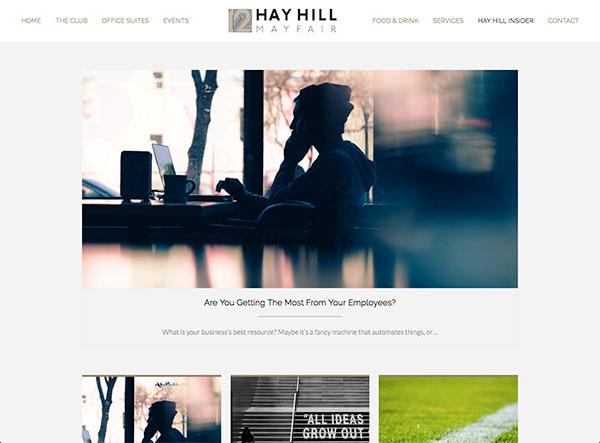 12 Hay Hill - Insider