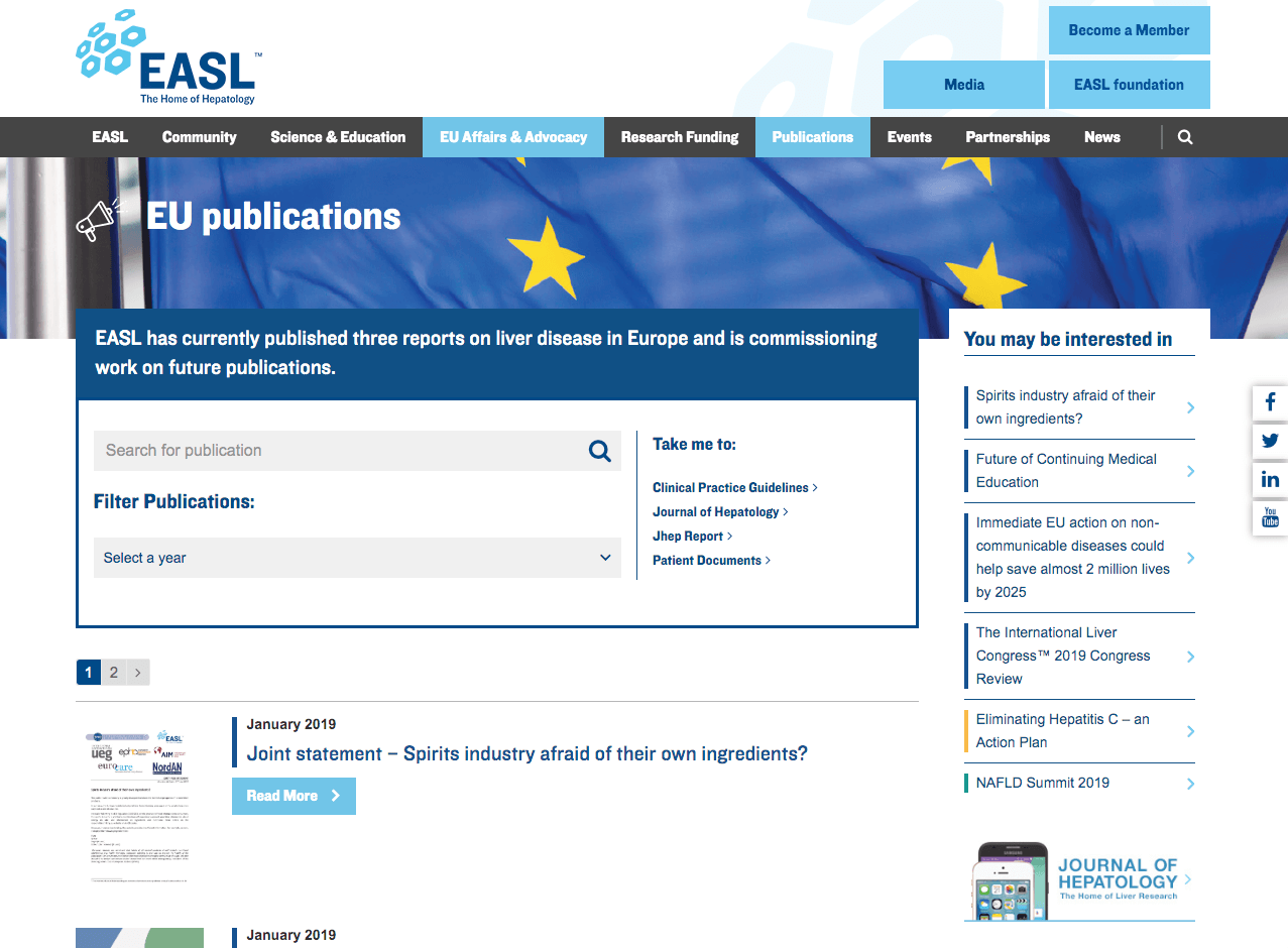 EASL Reports
