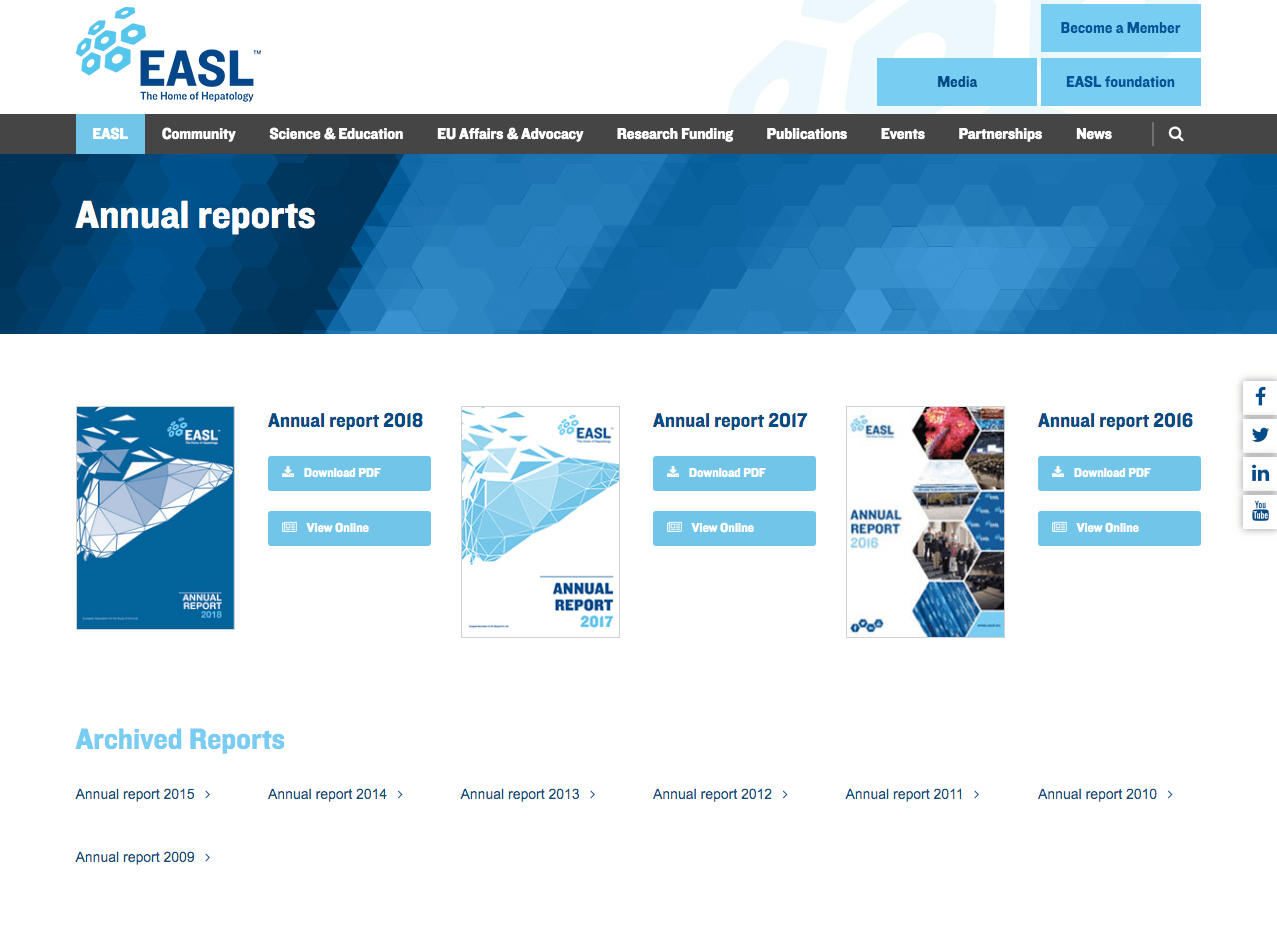 EASL Publications